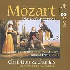 Mozart - Piano Concertos Vol. 2 - Christian Zacharias,Lausanne Chamber Orchestra