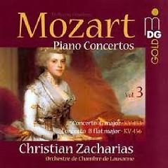 Mozart - Piano Concertos Vol. 3 - Christian Zacharias,Lausanne Chamber Orchestra