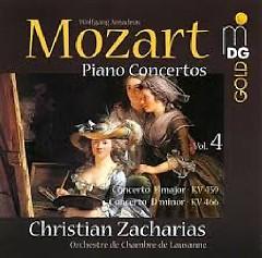 Mozart - Piano Concertos Vol. 4 - Christian Zacharias,Lausanne Chamber Orchestra