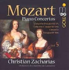 Mozart - Piano Concertos Vol. 5 - Christian Zacharias,Lausanne Chamber Orchestra