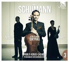 Schumann - Cello Concerto, Piano Trio  - Jean-Guihen Queyras,Freiburger Barockorchester