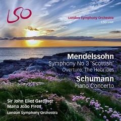 Mendelssohn - Symphony No 3, Schumann - Piano Concerto CD 2 - Maria Joao Pires,John Eliot Gardiner,London Symphony Orchestra
