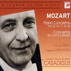 Mozart - Piano Concertos, Concertos For 2 And 3 Piano Vol 2 CD 1 - George Szell,Eugene Ormandy,Various Artists