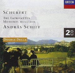 Schubert - The Impromptus, Moments Musicaux CD 1  - Andras Schiff