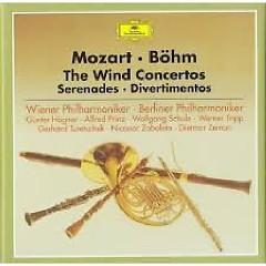 Mozart - The Wind Concerto, Serenades, Divertimentos CD 1  - Karl Böhm,Wiener Philharmoniker,Berliner Philharmoniker