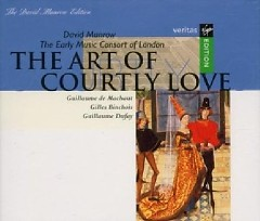 The Art Of Courtly Love CD 1 (No. 1) - David Munrow,Early Music Consort Of London