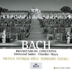 Bach - Brandenburg Concertos, Orchestral Suites, Chamber Music CD 5 (No. 1) - Reinhard Goebel,Musica Antiqua Koln