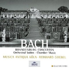 Bach - Brandenburg Concertos, Orchestral Suites, Chamber Music CD 7 (No. 1)