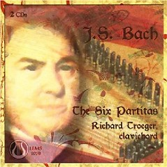 Bach - The Six Partitas CD 2 (No. 2) - Richard Troeger