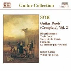 Sor - Complete Guitar Duets, Vol. 2