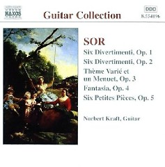 Sor - Guitar Music Op. 1 - Op. 5 (No. 2)