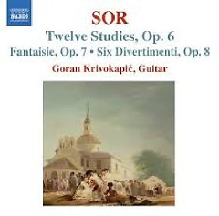 Sor - Guitar Music Op. 6 - Op. 9 (No. 2)