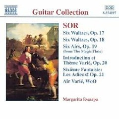 Sor - Guitar Music Op. 17 - Op. 21 (No. 2) - Margarita Escarpa
