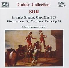 Sor - Grandes Sonates, Opp. 22 & 25 (No. 2)