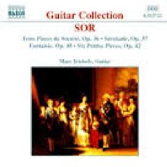 Sor - 3 Pieces De Societe, Op. 36 - 6 Petites Pieces, Op. 42 - Marc Teicholz