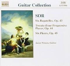 Sor - Guitar Music Op. 46 - 48 & 50, 51 (No. 1)