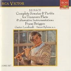 Bach - Complete Sonatas & Partita For Transverse Flute And Alternative Instrumentations CD 1 - Anner Bylsma,Frans Brüggen,Leonhardt Gustav