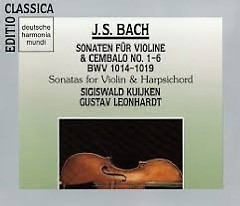 J.S.Bach - Sonaten Für Violine & Cembalo No. 1 - 6 BWV 1014 - 1019 CD 2