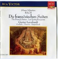 J. S. Bach - The French Suites; Die Franzosischen Suiten CD 1