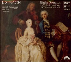 Bach - Violin Sonatas CD 1