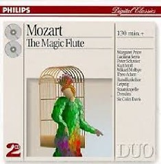 Mozart - The Magic Flute CD 1 - Sir Colin Davis, Dresden Staatskapelle Orchestra, Various Artists