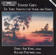 Grieg - The Three Sonatas For Violin And Piano - Dong-Suk Kang, Roland Pontinen