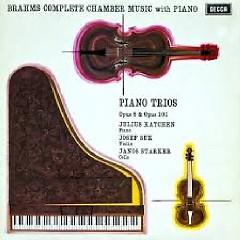 Brahms - Piano Trios No 1 & 3 - Julius Katchen, Josef Suk, Janos Starker