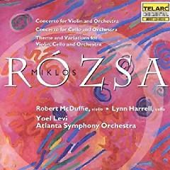 Rozsa, Miklos - Violin & Cello Concertos - Yoel Levi, Atlanta Symphony Orchestra