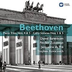 Beethoven - Piano Trios Nos. 4 & 5; Cello Sonatas Nos. 3 & 5 Disc 1 - Daniel Barenboim, Pinchas Zukerman, Jacqueline du Pré