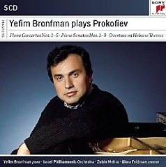 Yefim Bronfman Plays Prokofiev CD 3 - Yefim Bronfman, Zubin Mehta