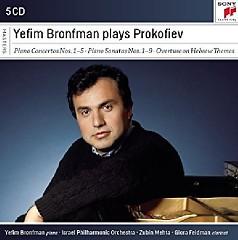 Yefim Bronfman Plays Prokofiev CD 5 - Yefim Bronfman, Zubin Mehta
