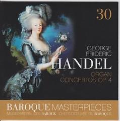 Baroque Masterpieces CD 30 - Handel Organ Concertos Op. 4 (No. 1) - Rudolf Ewerhart, Collegium Aureum