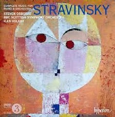 Stravinsky - Complete Music For  Piano & Orchestra