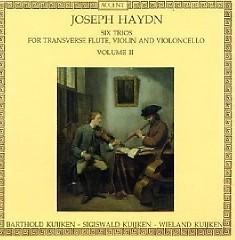Haydn - Six Trios For Transverse Flute, Violin & Cello, Vol. 2 (No. 1) - Sigiswald Kuijken, Wieland Kuijken, Barthold Kuijken