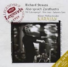 Strauss - Also Sprach Zarathustra; Salomes Tanz - Herbert von Karajan, Vienna Philharmonic