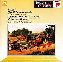 Mozart - Eine Kleine Nachtmusik, Posthorn Serenade, Six German Dances (No. 2) - George Szell, Erich Leinsdorf