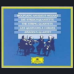 Mozart - The String Quartets CD 4 - Amadeus Quartet
