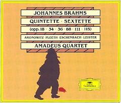 Brahms - Quintets; Sextets CD 1 - Amadeus Quartet