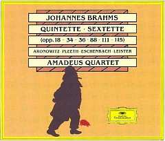 Brahms - Quintets; Sextets CD 2 - Amadeus Quartet