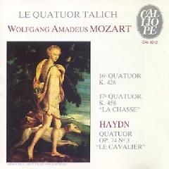 Mozart - String quartets 16 And 17 - Le Quatuor Talich