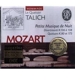 Mozart - Petite Musique de Nuit (No. 1) - Le Quatuor Talich