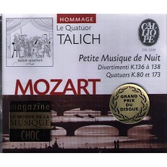 Mozart - Petite Musique de Nuit (No. 2) - Le Quatuor Talich