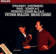 Stravinsky, Ravel, Prokofiev - Violin Sonatas - Viktoria Mullova, Bruno Canino