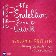Britten - String Quartets Nos 1, 2, 3; 3 Divertimenti CD 2 - Endellion String Quartet