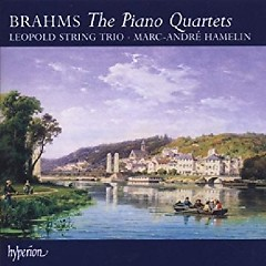 Brahms - The Piano Quartets CD 2 - Marc-André Hamelin, Leopold String Trio