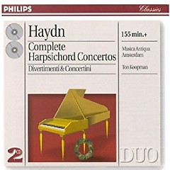 Haydn - Complete Harpsichord Concertos, Divertimenti & Concertini CD 2 (No. 1) - Ton Koopman, Musica Antiqua Amsterdam