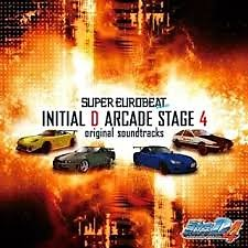 Initial D Arcade Stage 4 Original Soundtracks (CD1) - Initial D