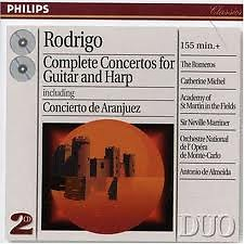 Rodrigo Complete Concertos For Guitar And Harp CD1