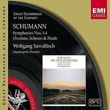 Schumann:Symphonies Nos. 1-4·Overture, Scherzo & Finale CD1