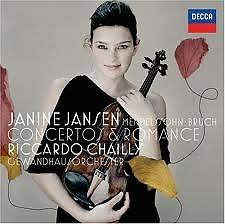 Janine Jansen: Mendelssohn, Bruch Concertos & Romance - Janine Jansen